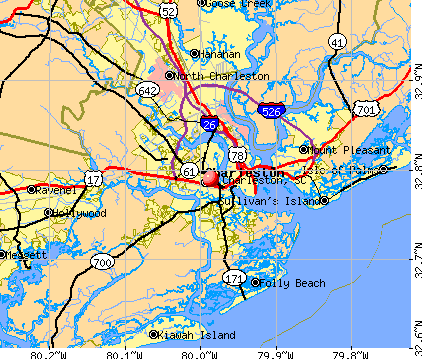 Map Of Charleston SC Submited Images